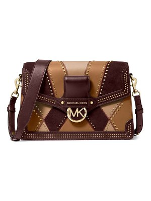 Michael Kors Collection jessie patchwork shoulder bag