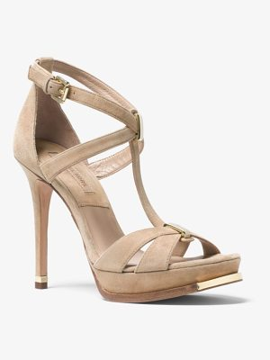 MICHAEL KORS COLLECTION Leandra Suede Sandal