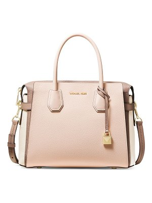 Michael Kors Collection medium mercer leather satchel