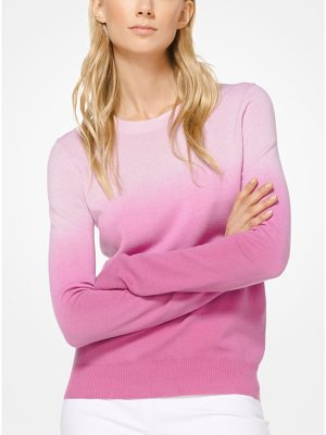 Michael Kors Collection Ombre Cashmere Pullover