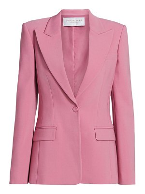 Michael Kors Collection one-button wool-blend blazer