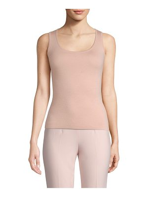 Michael Kors Collection scoopneck shell tank