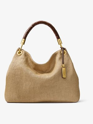 Michael Kors Collection Skorpios Large Woven Shoulder Bag