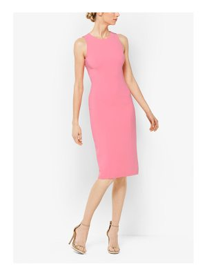 Michael Kors Collection Stretch Wool-Crepe Sheath Dress