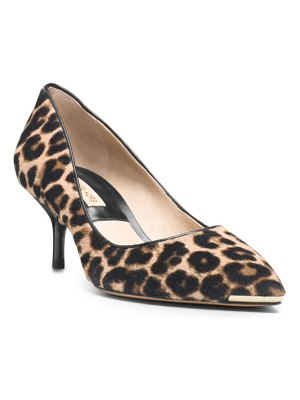 Michael Kors Collection Trisha Hair Calf Slip On Pump