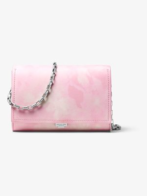 MICHAEL KORS COLLECTION Yasmeen Tie-Dye Leather Clutch