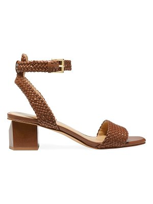 Michael Kors petra ankle-strap braided leather sandals