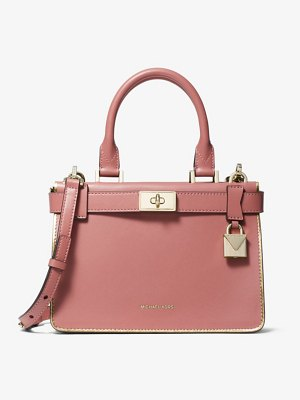 Michael Kors Tatiana Mini Leather Satchel