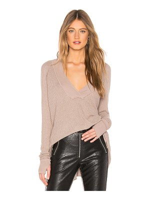 Michael Lauren Alvin Long Sleeve V Neck Sweater
