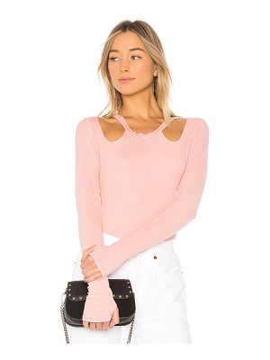 MICHAEL LAUREN Berken Long Sleeve Top