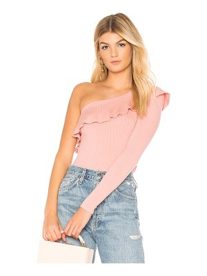 Michael Lauren Gonzola Ruffle Top