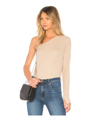 MICHAEL LAUREN Mac One Shoulder Top