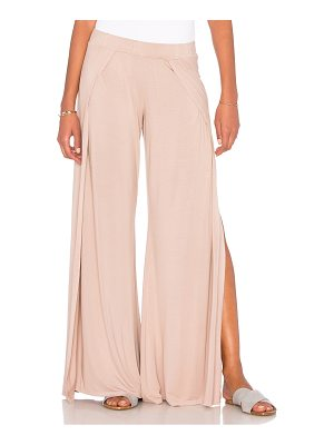 MICHAEL LAUREN Troy Wide Leg Pant With Slit