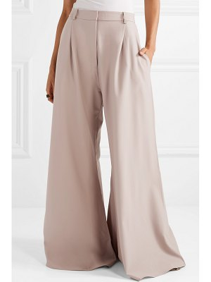 Michael Lo Sordo belle grain de poudre wool wide-leg pants