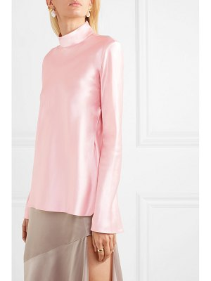 Michael Lo Sordo silk-satin top