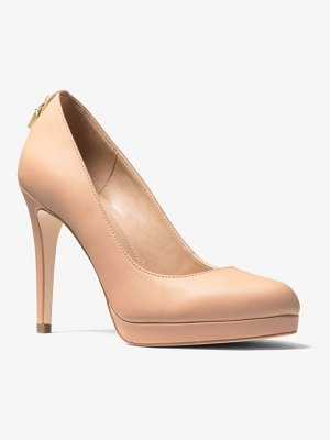 MICHAEL Michael Kors Antoinette Leather Pump