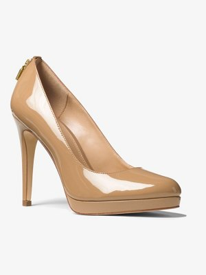 MICHAEL Michael Kors Antoinette Patent Leather Pump
