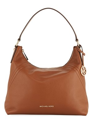 MICHAEL Michael Kors Aria Large Pebble Leather Shoulder Bag