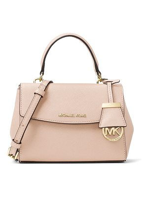 MICHAEL MICHAEL KORS Ava Extra-Small Saffiano Leather Satchel Bag