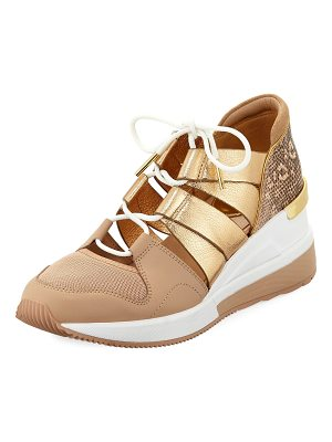MICHAEL Michael Kors Beckett Metallic Trainer Sneakers