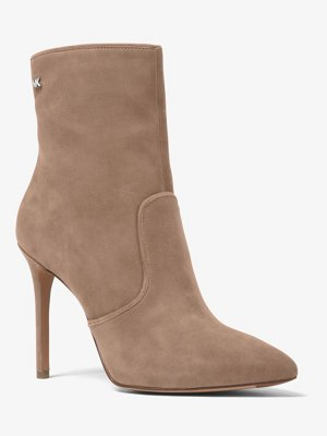 MICHAEL Michael Kors Blaine Suede Ankle Boot