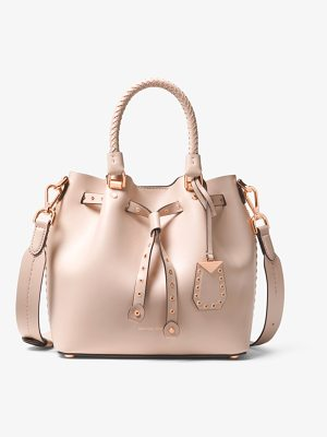 MICHAEL MICHAEL KORS Blakely Small Grommeted Leather Bucket Bag