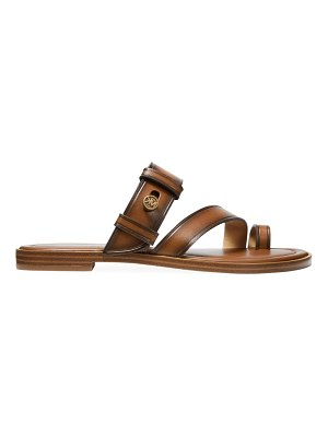 MICHAEL Michael Kors brayden flat leather sandals