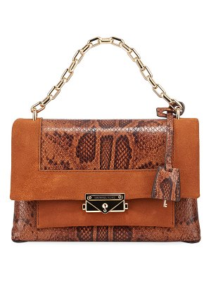 MICHAEL Michael Kors Cece Medium Embossed Leather Chain Shoulder Bag