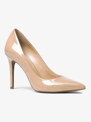 MICHAEL Michael Kors Claire Patent-Leather Pump