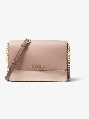 MICHAEL Michael Kors Daniela Large Color-Block Saffiano Leather Crossbody