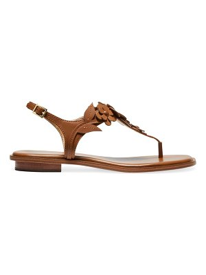 MICHAEL Michael Kors flora leather thong sandals