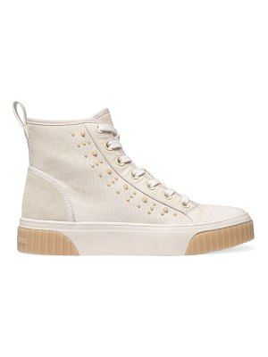 MICHAEL Michael Kors gertie high-top studded leather sneakers