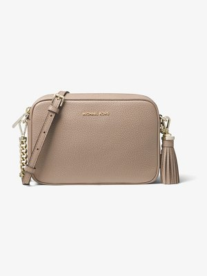 MICHAEL Michael Kors Ginny Medium Pebbled Leather Crossbody