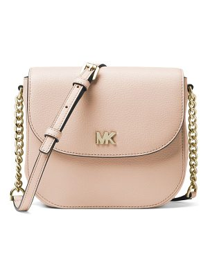 MICHAEL MICHAEL KORS Half Dome Leather Crossbody Bag