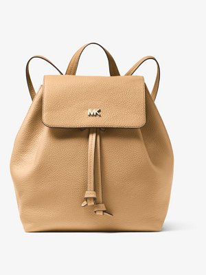 MICHAEL Michael Kors Junie Medium Pebbled Leather Backpack