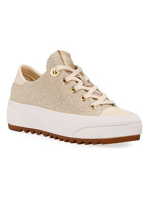 MICHAEL Michael Kors Keegan Metallic Low-Top Sneakers