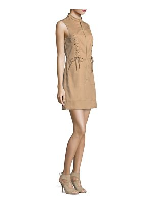 MICHAEL MICHAEL KORS Lace-Up A-Line Dress