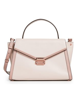 MICHAEL Michael Kors m group medium satchel
