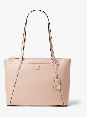 MICHAEL Michael Kors Maddie Medium Crossgrain Leather Tote