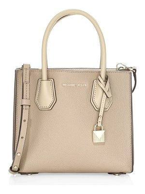 MICHAEL Michael Kors mercer pebbled leather accordion crossbody bag