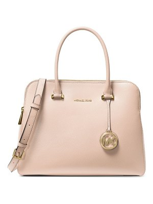 MICHAEL Michael Kors medium maddie leather dual-zip satchel