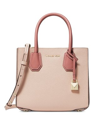 MICHAEL Michael Kors mercer leather messenger satchel
