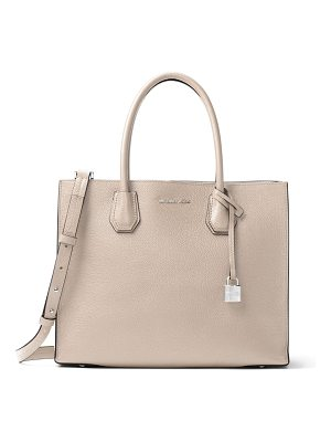 MICHAEL MICHAEL KORS Mercer Leather Tote Bag