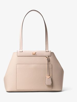 MICHAEL Michael Kors Meredith Medium Pebbled Leather Tote