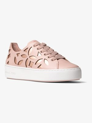 MICHAEL Michael Kors Mimi Perforated Leather Sneaker