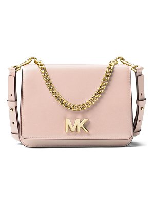 MICHAEL MICHAEL KORS Mott Large Chain Swag Shoulder Bag