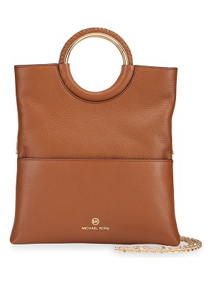 MICHAEL Michael Kors Rosie Foldover Ring Top-Handle Crossbody Bag