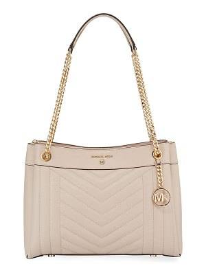 MICHAEL Michael Kors Susan Medium Leather Shoulder Bag