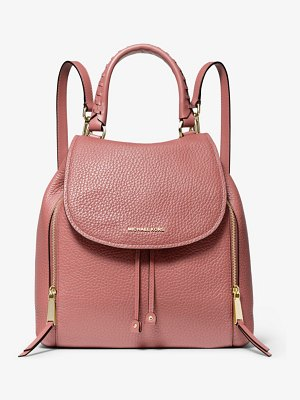 MICHAEL Michael Kors Viv Large Pebbled Leather Backpack