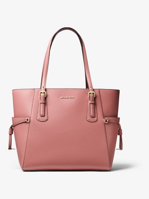MICHAEL Michael Kors Voyager Crossgrain Leather Tote